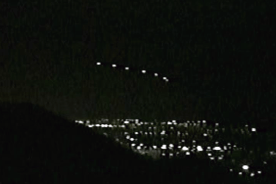 Authentic Phoenix Lights UFO photograph