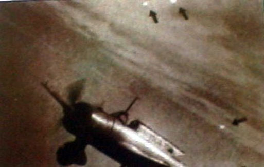 Foo Fighters UFO: Japanese Mitsubishi Ki-51 reconnaissance fighter.