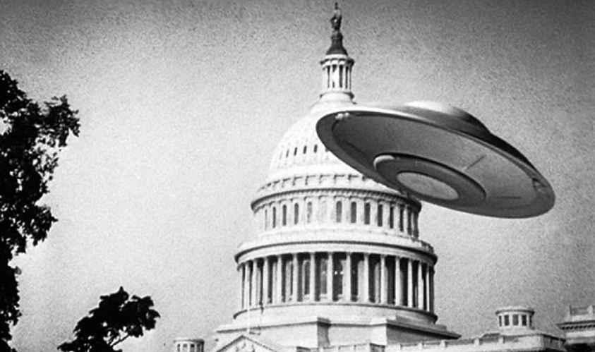 UFOs White House Lawn