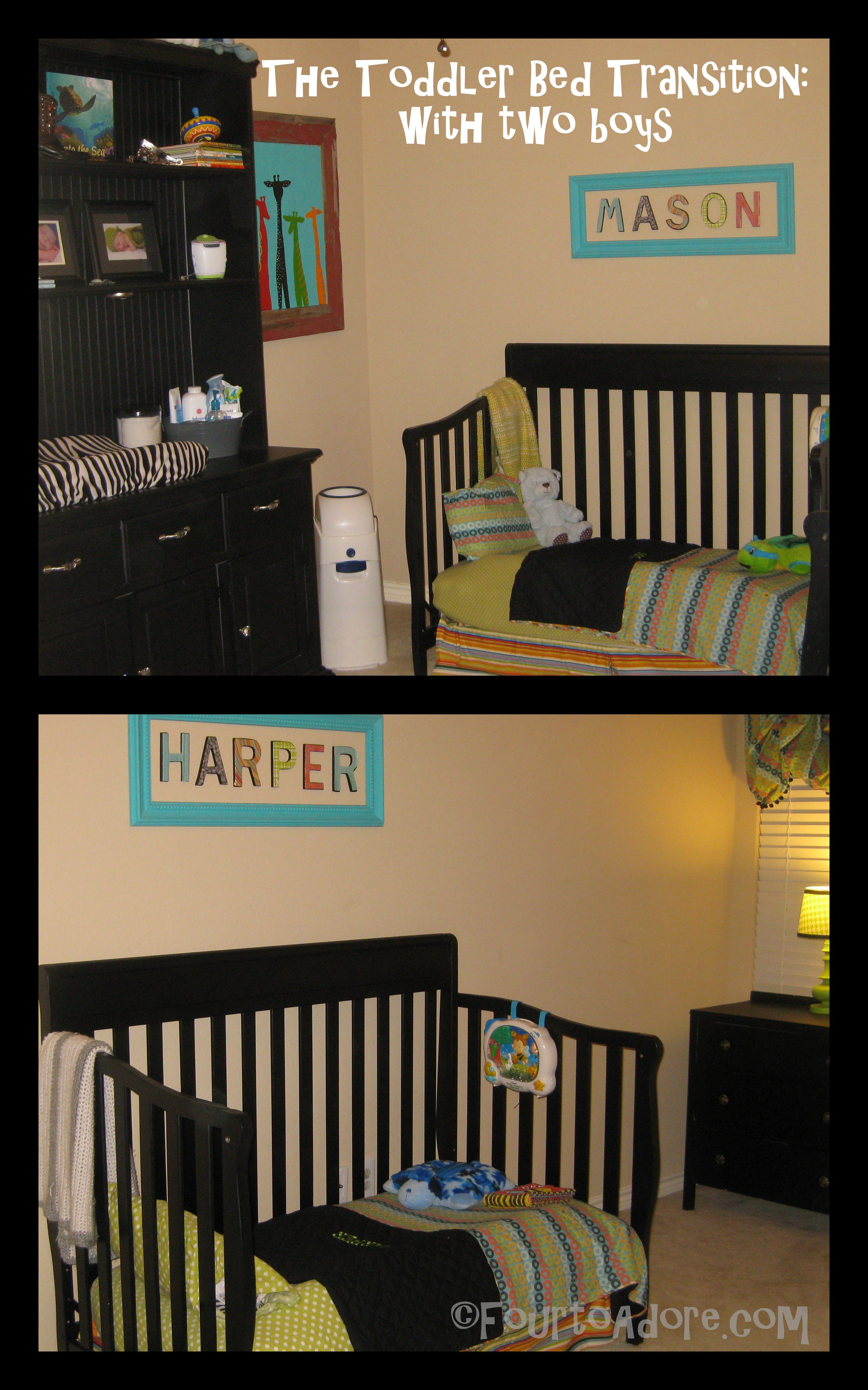 Toddler Beds Take Two Four To Adore