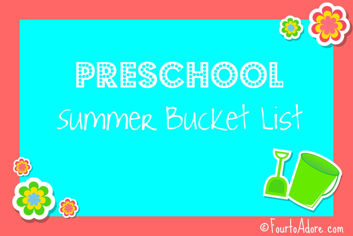 Summer Bucket List Four To Adore