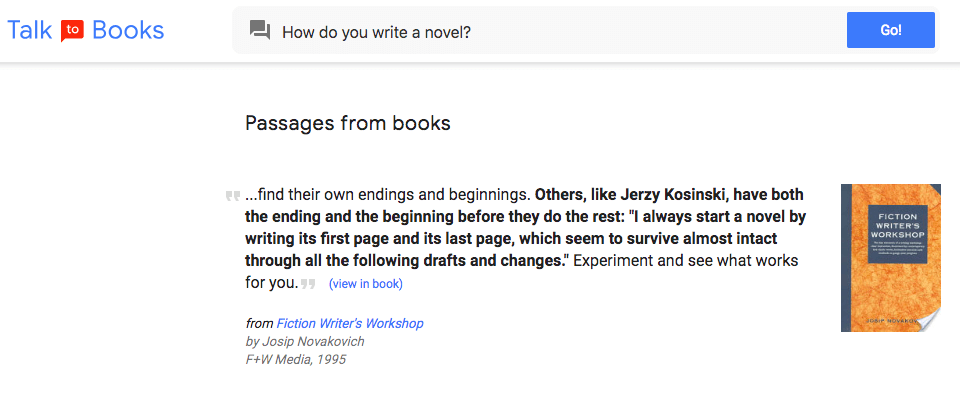 how do you write a novel?