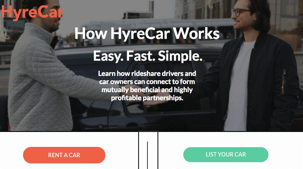 How Does HyreCar Make Money? HyreCar Business Model In A