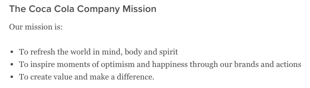 coca-cola-mission-statement