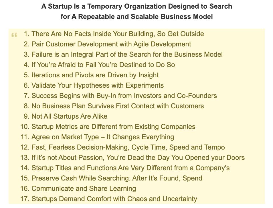 Customer Development In A Nutshell