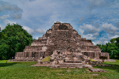Chacchoben Mayan Temple near Costa Maya, Mexico (picture taken in June 2012, courtesy of Roger Weeks)