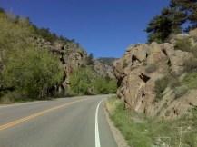 Heading into St. Vrain Canyon