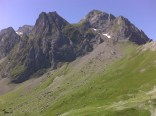 View from the Col du Tourmalet