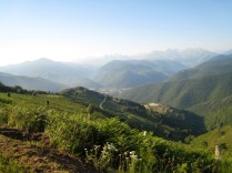 Arreau from Col d'Aspin