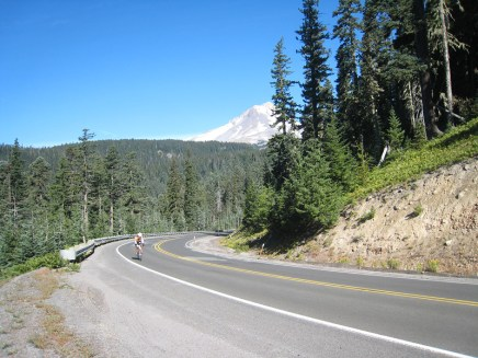 Mt Hood in the background