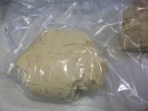 Dough ready to rise