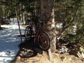 Bear Lake Trail and bike