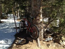 Bear Lake Trail and bike