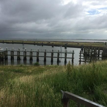 noordelijk kant van de Afsluitdijk