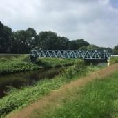 spoorbrug over kanaal