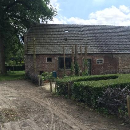 oud gebouw van boerderij