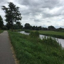 fietspad langs kanaal