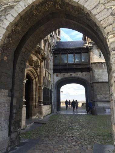 bogen van kasteel