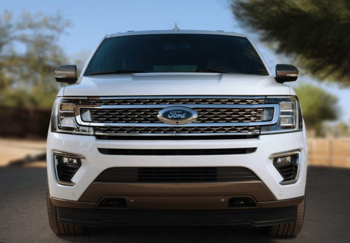2021 Ford Expedition Platinum Grille