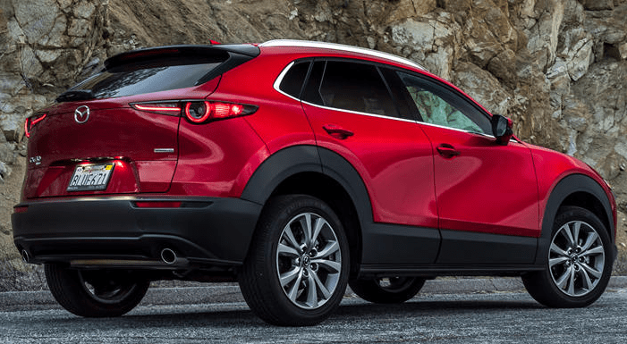 2022 Mazda CX-30 Premium Package Dimension