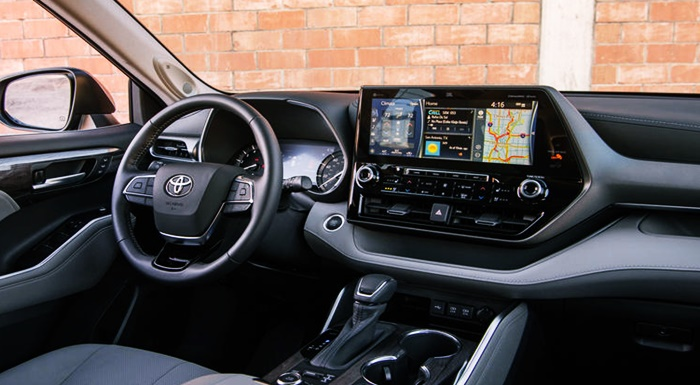 2023 Toyota Highlander Model Interior