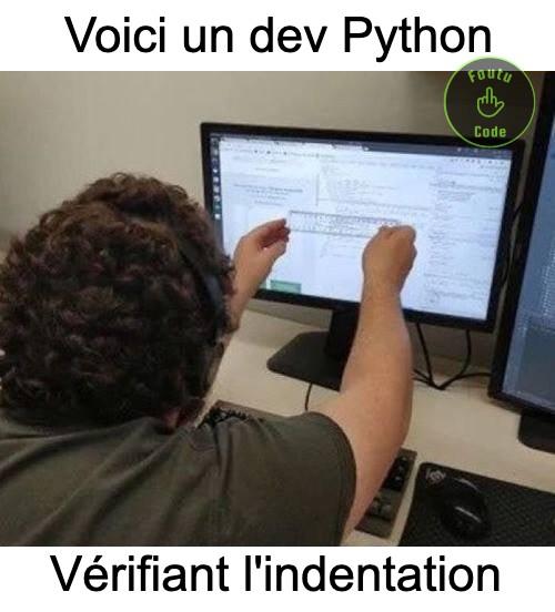Gérer l'indentation en Python