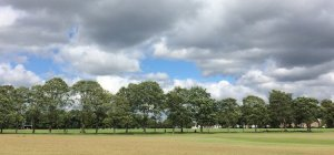 Victoria Park Leicester - middle field
