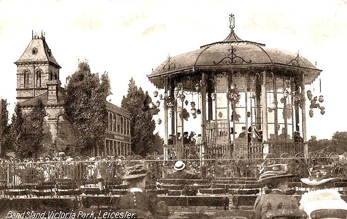 Bandstand on Victoria Park