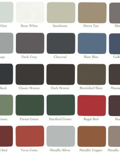 Everlast colors also metal fabrication color chart construction services in maine rh fowlerroofing