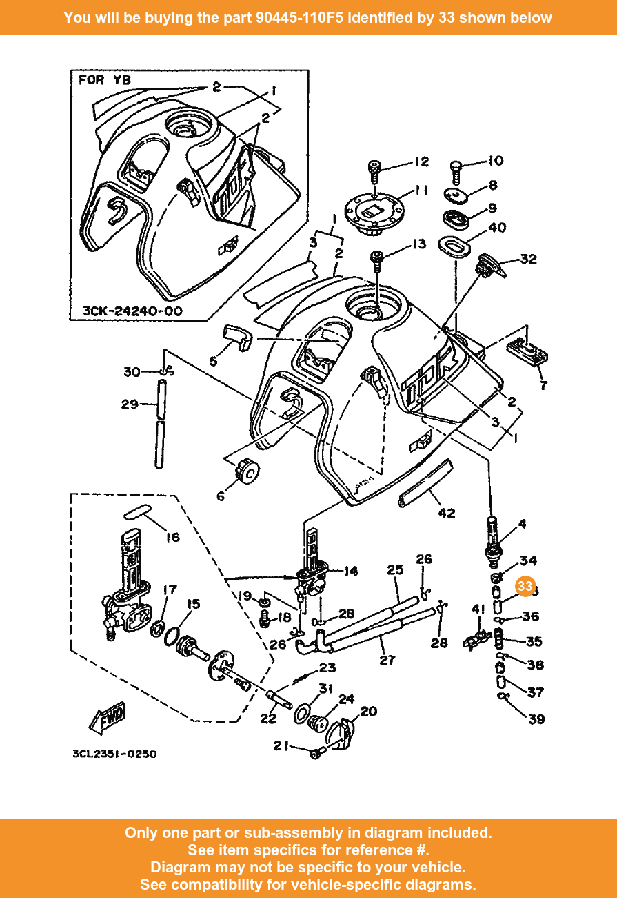 medium resolution of  33 on diagram only compatible with other bikes parts