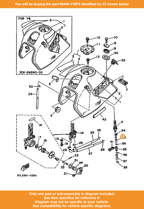 small resolution of  33 on diagram only compatible with other bikes parts