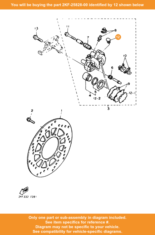 small resolution of  12 on diagram only compatible with other bikes parts