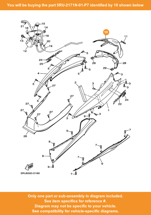 small resolution of  10 on diagram only compatible with other bikes parts