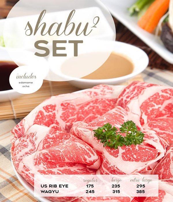 Daging Premium di Shabu Gen