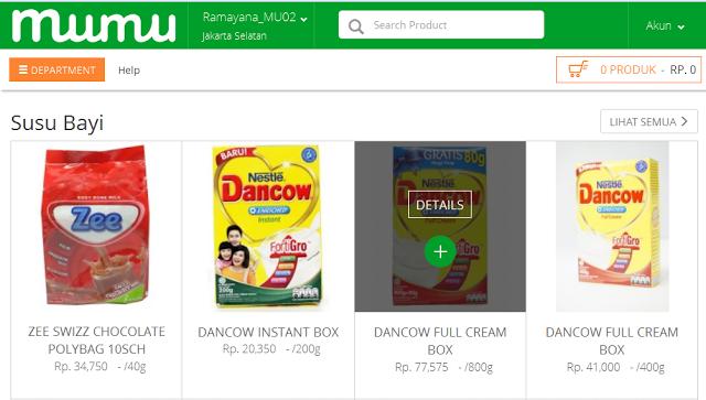 Berbelanja Di Supermarket Online Dengan Harga Yang Terjangkau