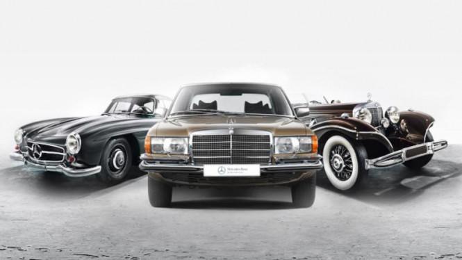 Merawat Mobil Sedan Klasik Mercedes Benz Dengan Mudah