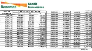 Ketahui Pinjaman Bank Danamon Suku Bunga dan Angsuran Per bulan