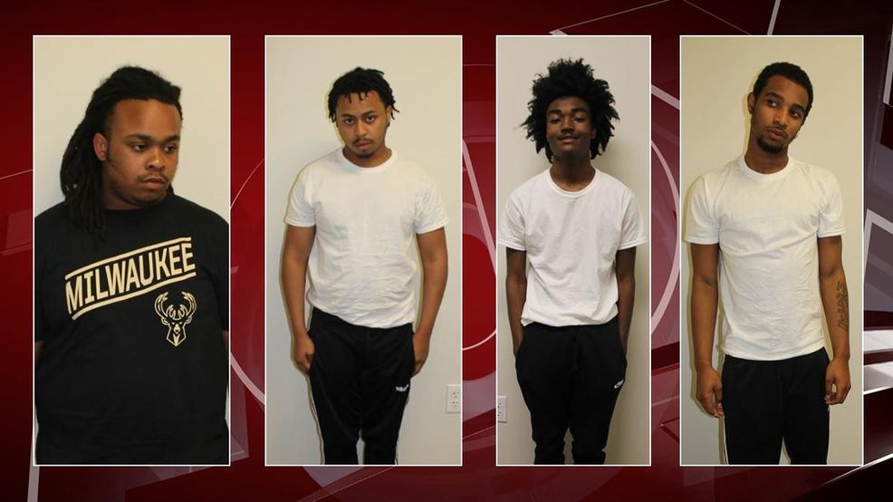 four men charged accused
