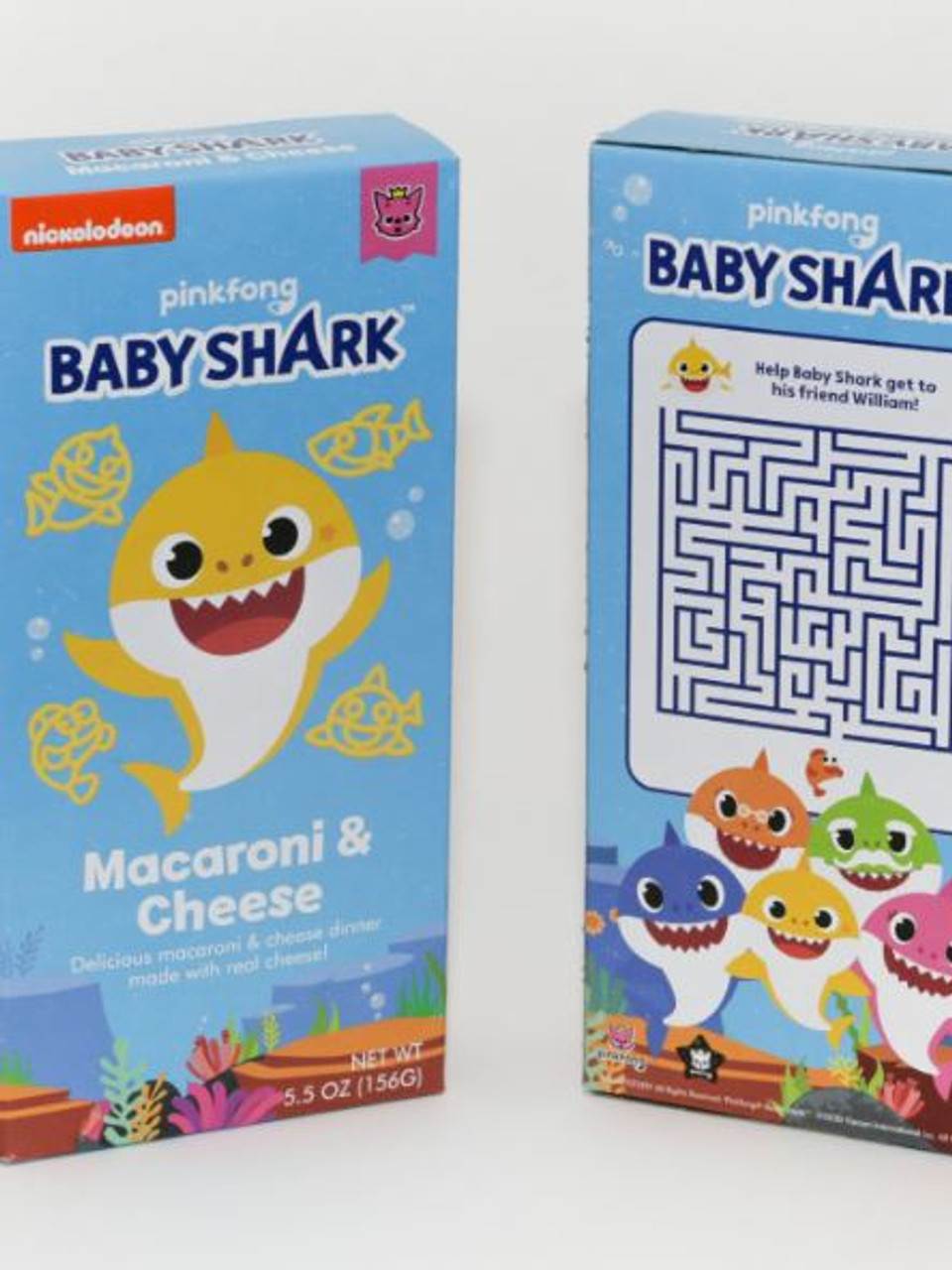 Baby Shark Mac And Cheese : shark, cheese, Shark, Cheese, Coming, Walmart, Stores