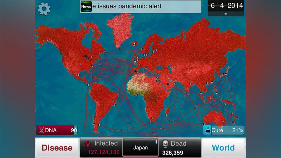 Video game company urges players to avoid Plague Inc. game for ...