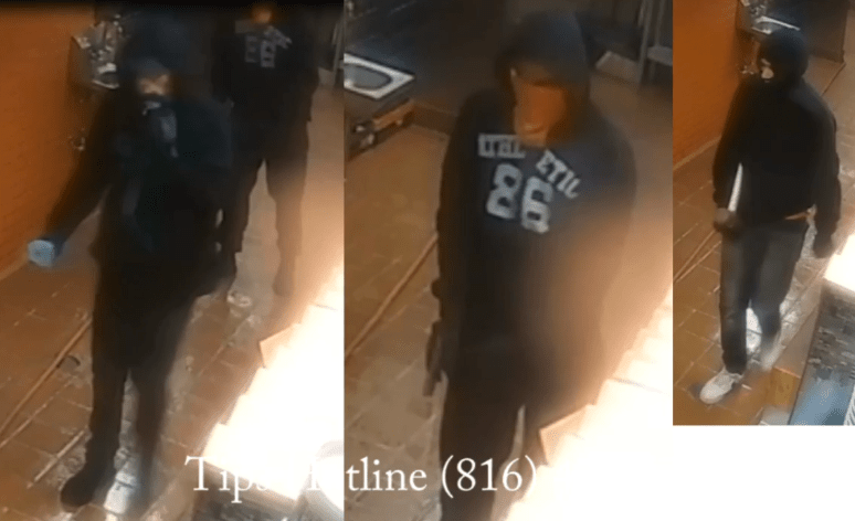 Picture of Gates Bar-B-Q attackers