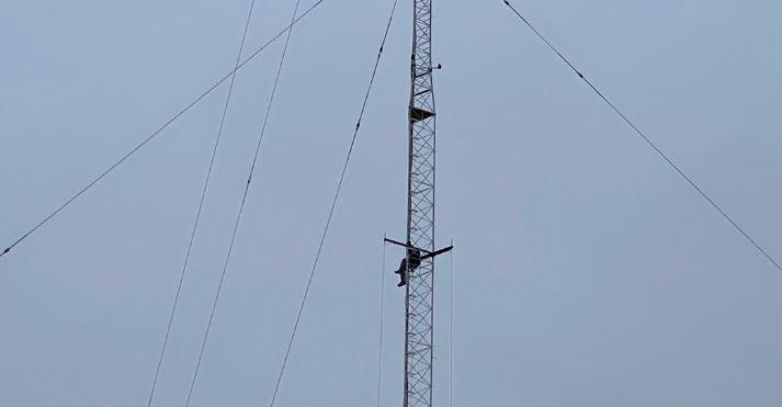 Florida man in radio tower