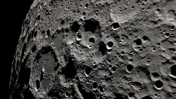 Moon surface image from CNN