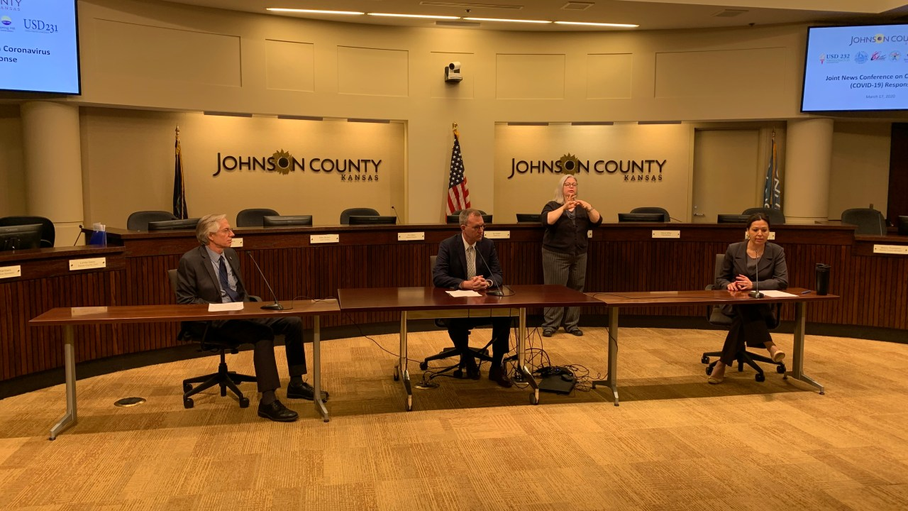 Johnson County officials discuss coronavirus measures after ...