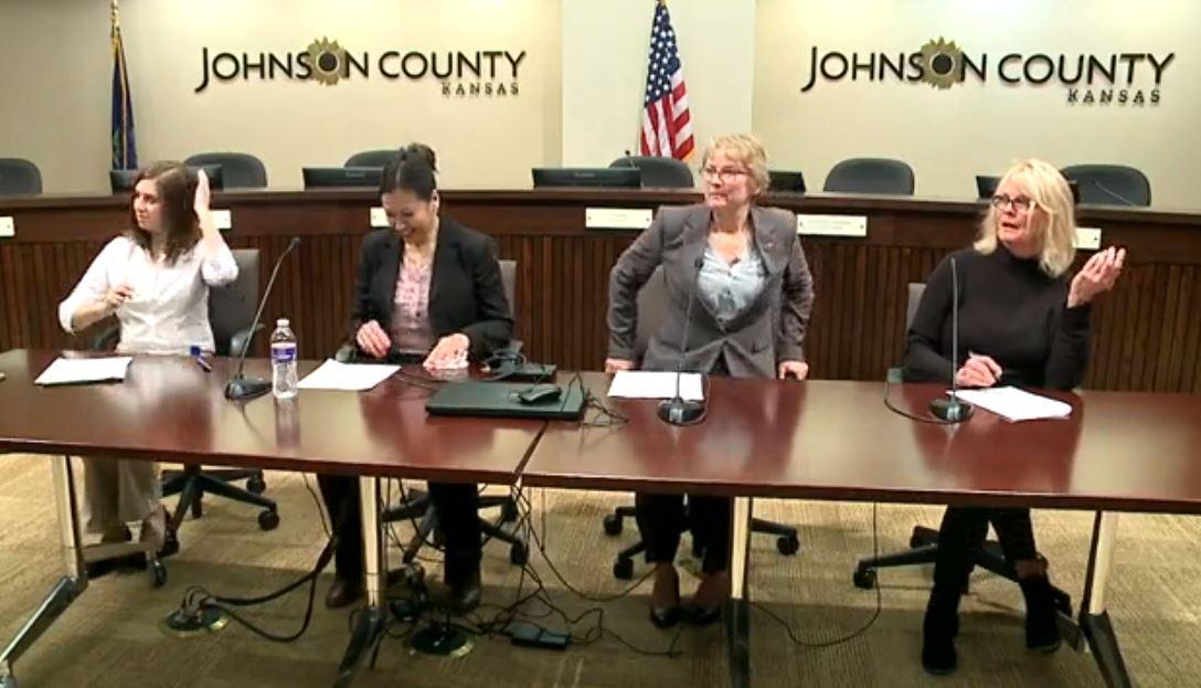Johnson County officials discuss the first positive coronavirus ...