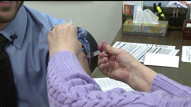 Hoosiers getting flu shots as winter continues