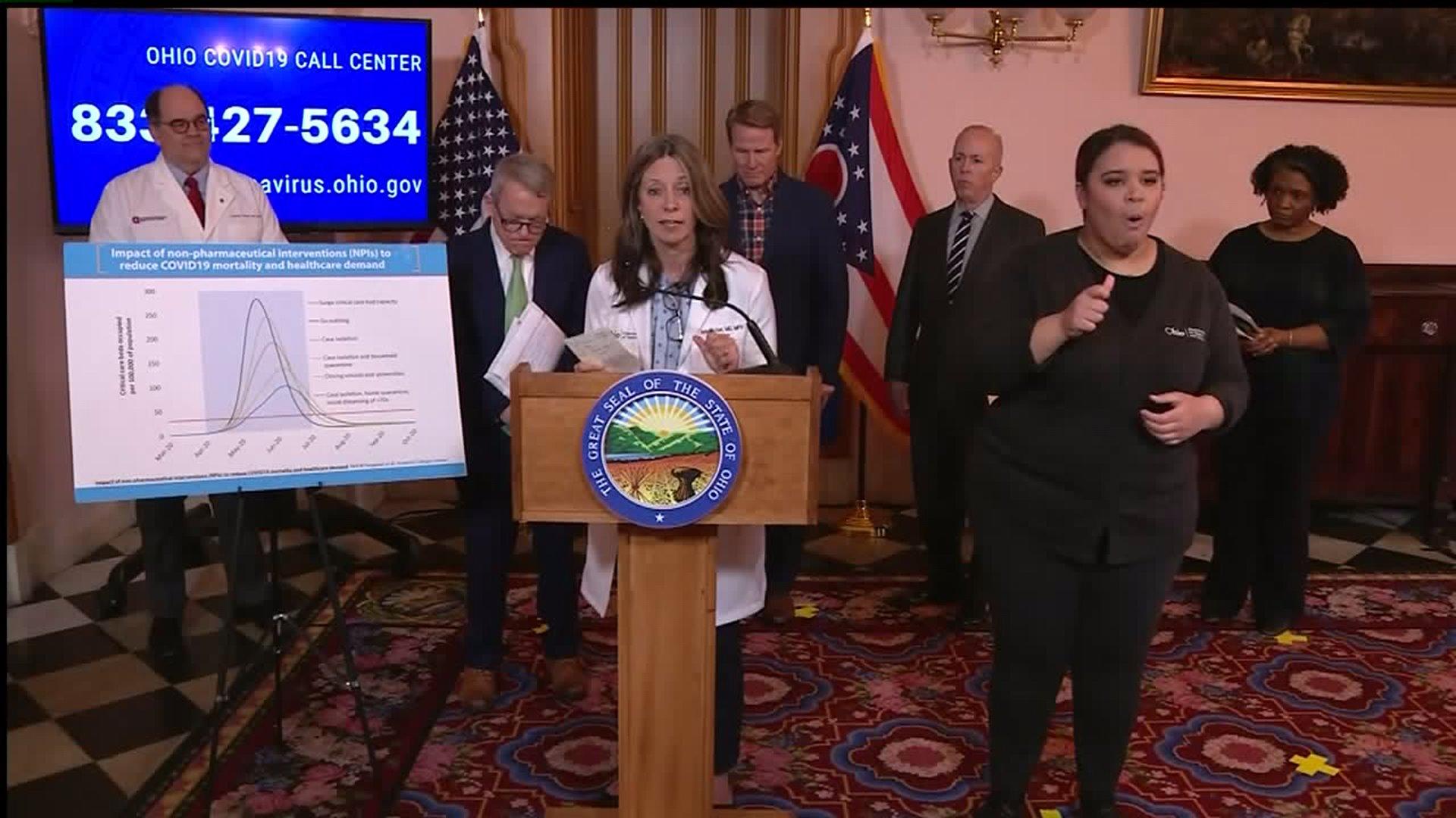 Department of Health confirms 67 coronavirus cases in Ohio; 17 ...