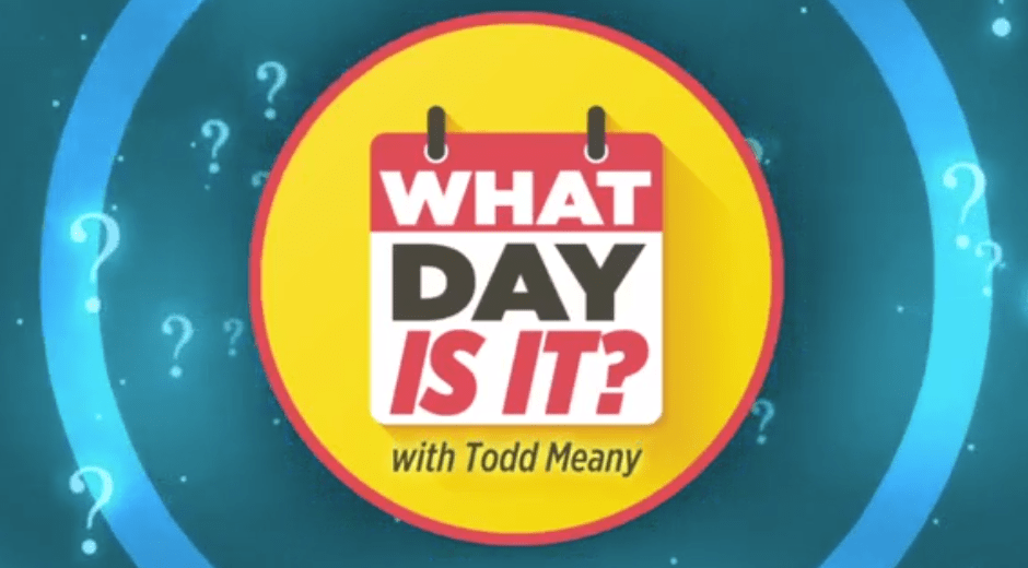 What day is it?