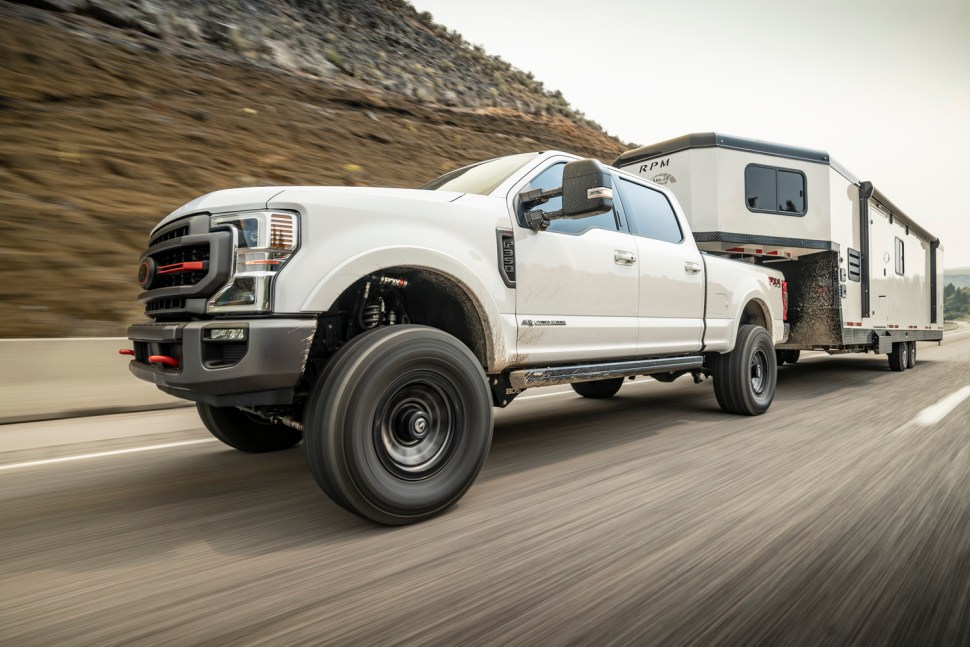 Shocks are the key to proper handling for towing and hauling.