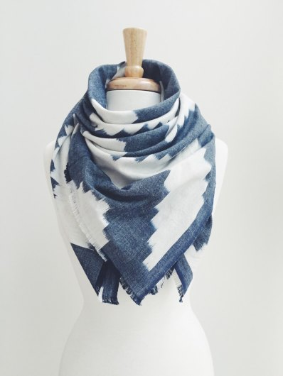 DeBrosse Blanket Scarf | via Fox & Brie